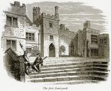 The First Court-Yard