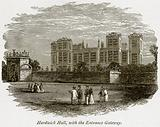 Hardwick Hall, with the Entrance Gateway
