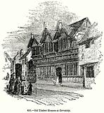 Old Timber Houses at Coventry