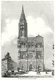 West Front of Strasburg Cathedral, France