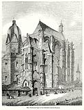 North-East Angle of the Cathedral of Aix-la-Chapelle