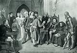 James IV before the battle of Flodden Field