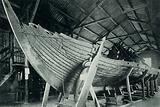 Remains of a Vikings' ship at Christiania