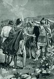 The surrender of Mancinus