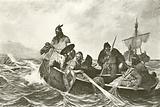 Leif Ericson off the coast of Vineland
