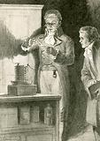The first electrical battery
