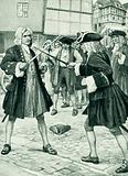 Handel settles an affair of honour