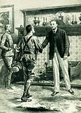 General French and Cecil Rhodes meeting at the Sanatorium hotel