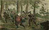 Falstaff sweats to death, and lards the lean earth as he walks along