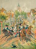 The cuirassiers of Reichshoffen