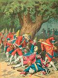 Death of Chevalier D 'Assas