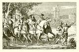 The princes led to Vincennes