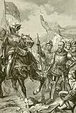 The battle of Cocherel