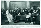 The first council of Her Majesty Queen Victoria at Kensington Palace
