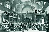 The trial of Queen Caroline in the Old House of Peers