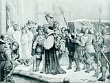 The funeral of Charles I