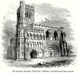 Dunstable Priory Church. – Britton's Architectural Antiquities