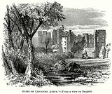 Ruins of Leicester Abbey