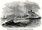 Dunstanburgh Castle. – Finden's Ports and Harbours