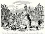 The Old Market Place, Rouen