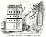 Ancient War Engines. – Grose's Military Antiquities.