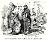 Court Costumes, Time of Richard II
