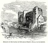 Remains of the Castle of Newark-on-Trent