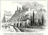 Castle of Chinon. – Touchard Lafosse, La Loire Historique, Pittoresque, &C.