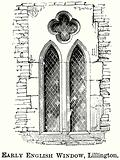 Early English Window, Lillington