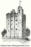 Norman Keep, Headingham Castle, Essex