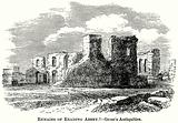 Remains of Reading Abbey. – Grose's Antiquities