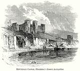 Rhuddlan Castle, Flintshire. – Gorse's Antiquities.