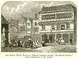 """The White Hart, Taunton, Jeffreys' Residence during """"the Bloody Assizes"""""""