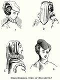 Head-Dresses, Time of Elizabeth