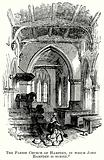 The Parish Church of Hampden, in which John Hampden is Buried