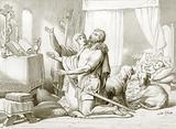 How Torfrida teaches Hereward to pray