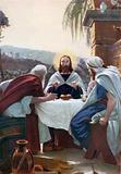Breaking of Bread at Emmaus