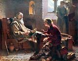 The Venerable Bede translating the last chapter of St John
