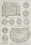 Shrine of Ethelbert, King of the East Saxons. Silver Penny of Ethelwulf. Coin of the Bretwalda …