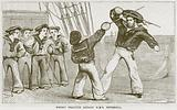Sword Practice Aboard HMS Britannia