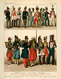 Miscellaneous Costumes 1834-1864