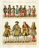 French Costumes 1700–1750