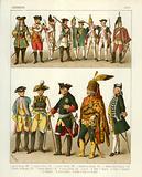 German Costumes 1700