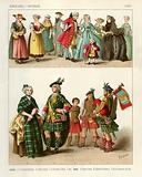 English and Scotch Costumes 1700