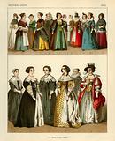 Netherlands Costumes 1600