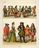 French Costumes 1600
