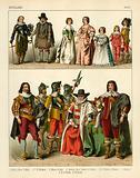 English Costume 1600