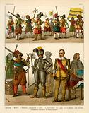 German Costumes 1600