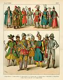 Slavonic Costume 1500