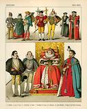 English Costume 1550-1600